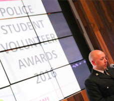PC Michael Neate, Community Safety Student Liaison Officer, South Wales Police and Chair of Police Association of Higher Education Liaison Officers (PAHELO)